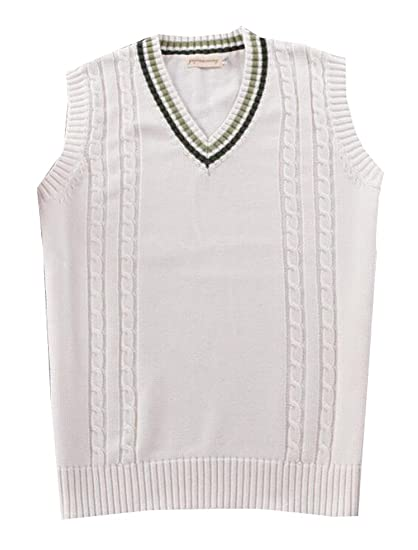 ffd03611d38b GAGA Women s Knit V Neck Sleeveless Pullover Sweater Vest at Amazon Women s  Clothing store