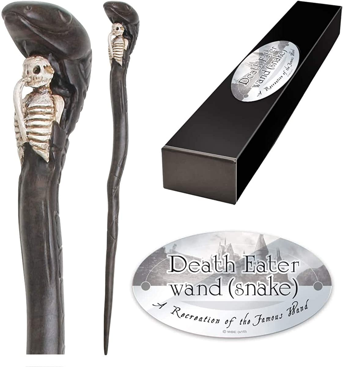 Baguette Death Eater brown - Noble Collection Harry Potter