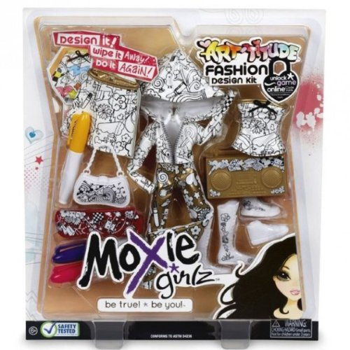 Moxie Girlz Arttitude Fashion Design Kit MGA Entertainment