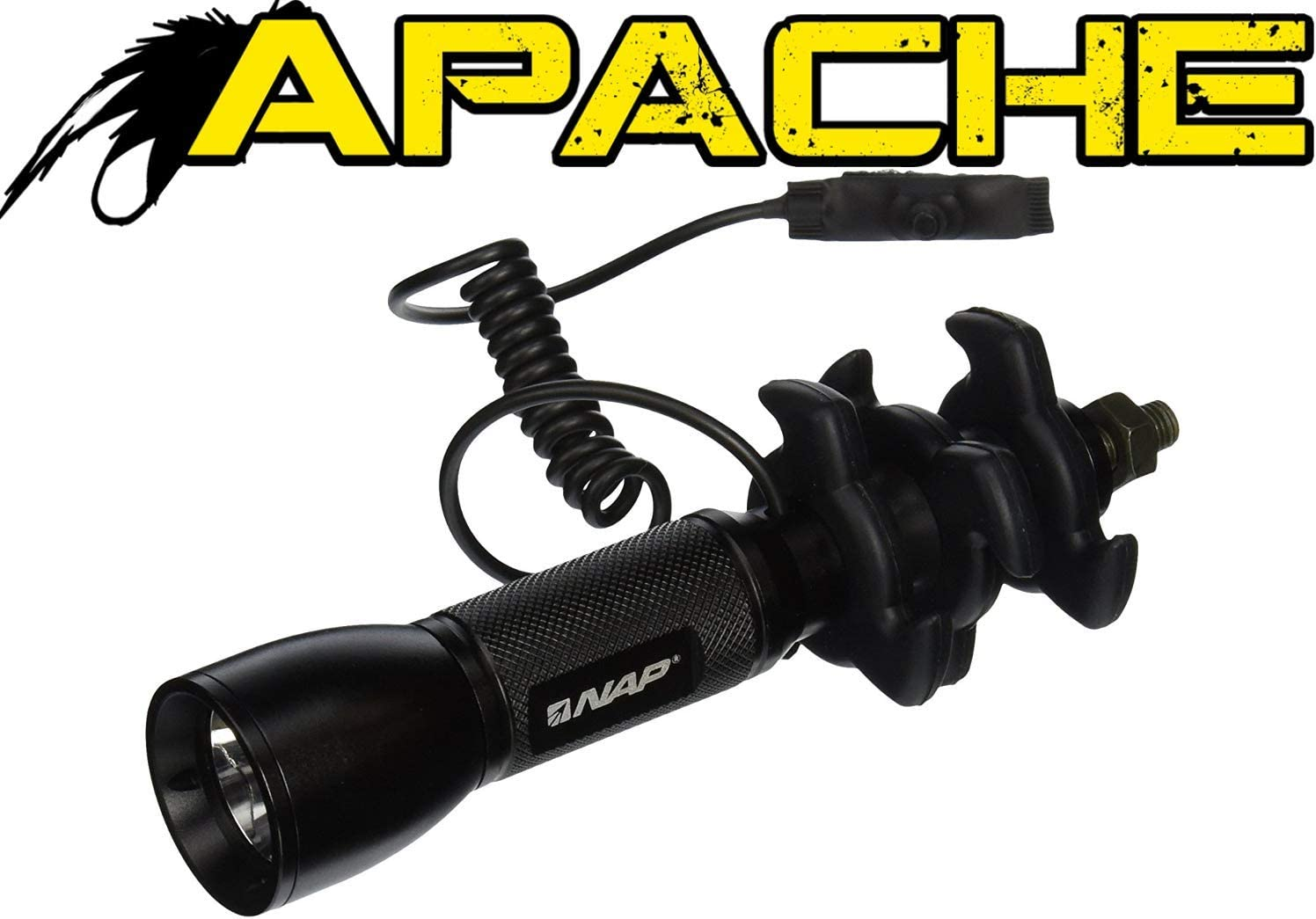 best bow stabilizer: NAP Apache Predator LED Stabilizer