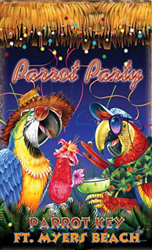Northwest Art Mall JM-6728 PP Parrot Key Fort Myers Bch Florida Party 11