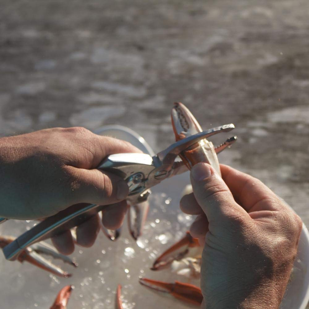 Crab Leg Cracker Tool - Perfect for Claws and Legs - Works with Lobster and Snow Crab Too - by Toadfish Outfitters by Toadfish (Image #6)