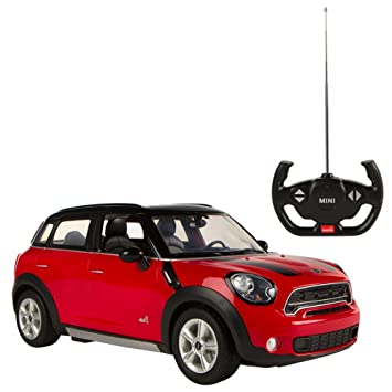 Rastar - Mini Countryman, coche teledirigido, escala 1:14, color rojo (ColorBaby 75990): Amazon.es: Juguetes y juegos