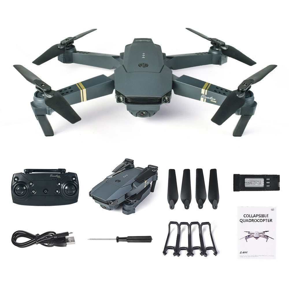 Bovake 2018 L800 2.4G HD Kamera Wifi FPV Faltbare Selfie Drone RC Quadcopter RTF