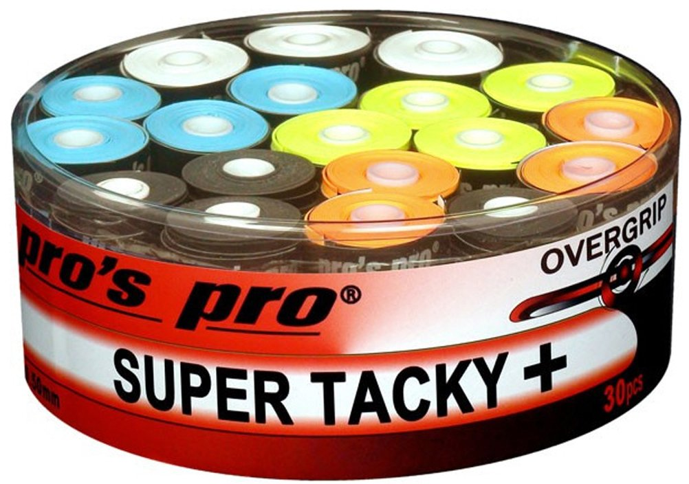 Pro 30 Overgrip Super Tacky Tape Tennis Pros Griffband G0273b