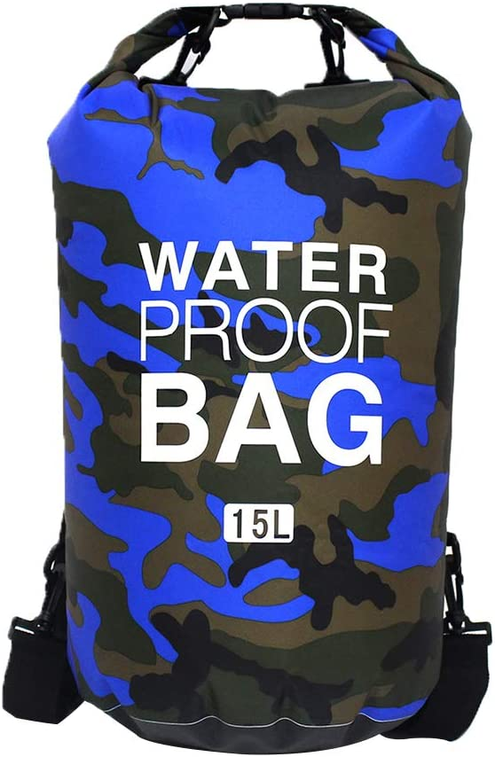 Waterproof Floating Dry Bag 5L 10L 15L 20L Roll Top Dry Compression Sack Storage Backpack Keeps Gear Dry for Phone Kayaking Rafting Boating Swimming Fishing Camping Hiking