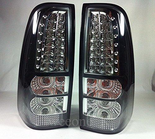 L.E.D Rear Taillight Tail Light Lamp For Isuzu Dmax D-max Pickup 2007 2008 2009 2010 2011 V.2