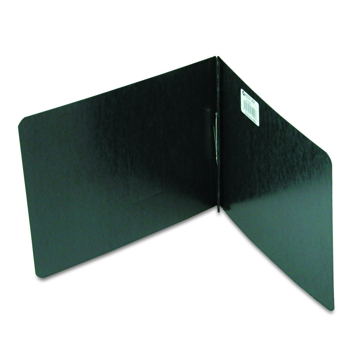 ACCO Pressboard Report Covers Top Binding for Letter Size Sheets Black A7017921 2 Capacity