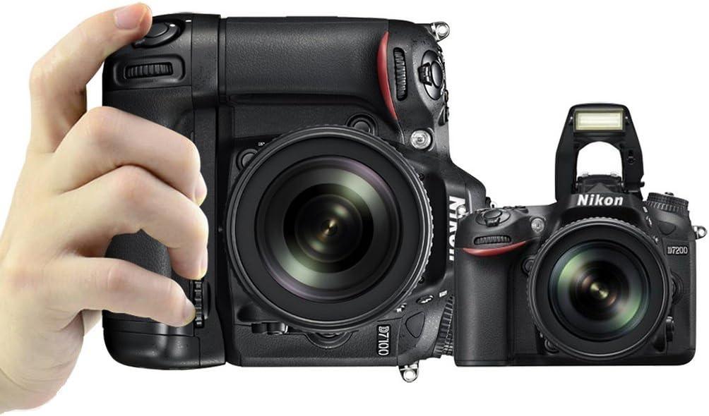 PIXEL Vertax D15 Empuñaduras para Nikon D7100/D7200 Cámara DSLR ...
