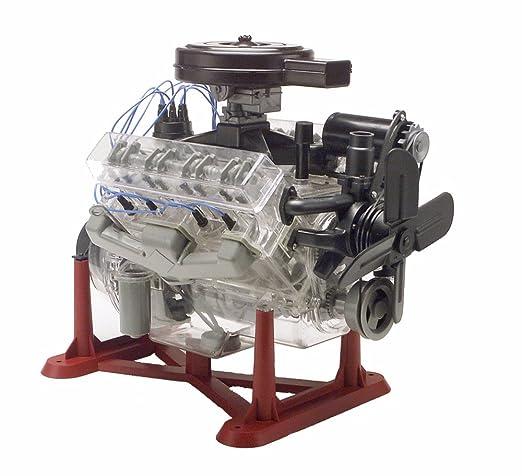 amazon com revell 85 8883 1 4 visible v 8 engine plastic model kit rh amazon com RC Car V8 Engine 1 2 Scale V8 Engines