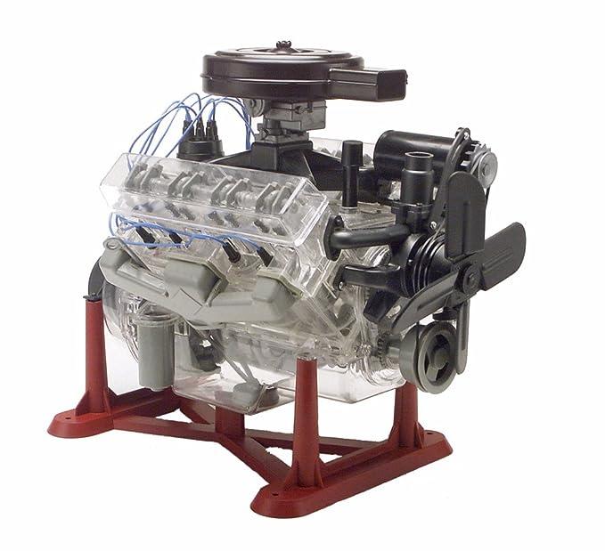 Amazon.com  Revell 85-8883 1 4 Visible V-8 Engine Plastic Model Kit,  12-Inch  Toys   Games 68e204cd456