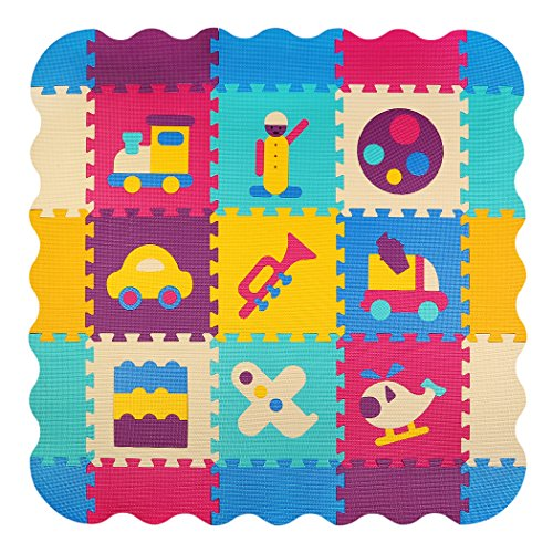 Baby Play Mat with Fence | meiqicool Thick (0.4