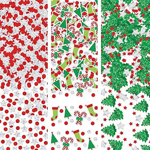 Multicolored Foil & Confetti Christmas Value Pack | Party Decoration -
