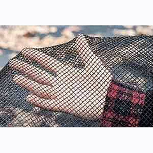 20x40 Black Rectangle In-Ground Swimming Winter Pool Cover Leaf Net Catcher Made from Durable and Knitted Polythene
