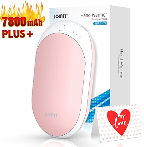 Jomst New 7800mAh Rechargeable Hand Warmers Portable Electric Power blue
