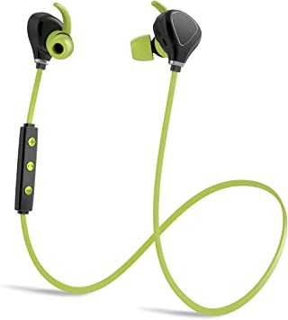 Amazon Com Bluetooth Headphones Running Headphones Compatible With Iphone Kbtel Best Wireless Sports Earphones W Mic Ipx4 Waterproof For Running Gym Workout 12 Hours Battery Life Black Green Home Audio Theater
