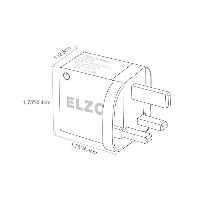 Elzo Quick Charge 3 0 18w Usb Wall Charger Adapter Fast Rapid