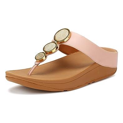 232cd04952b Fitflop Women s Halo Toe Thong Sandals Platform  Amazon.co.uk  Shoes ...