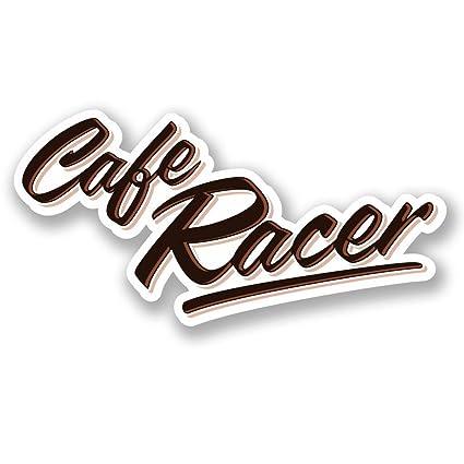 Pegatina cafe racer