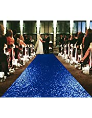 Runner for The Bride Wedding Aisle Runners Adhesive Weights Sequin Aisle Runner -0822S