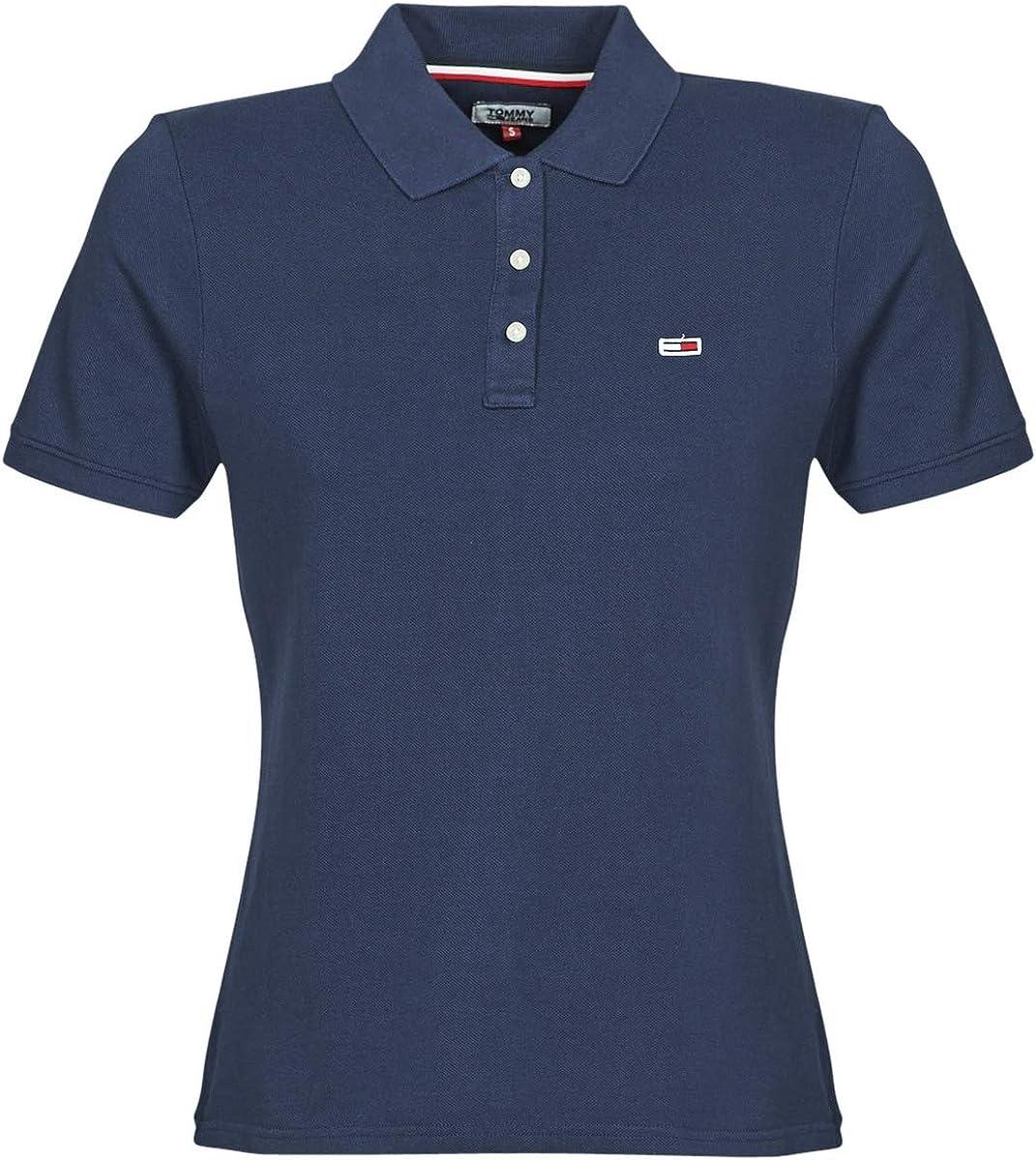 Tommy Jeans Damen Tjw Tommy Classics Polo Poloshirt