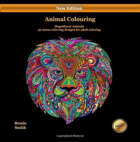 Read Online Animal Coloring (Magnificent Animals): An animal coloring book full of amazing animal coloring (colouring) sheets: Contains 50 coloring pages for adults (Volume 2) pdf