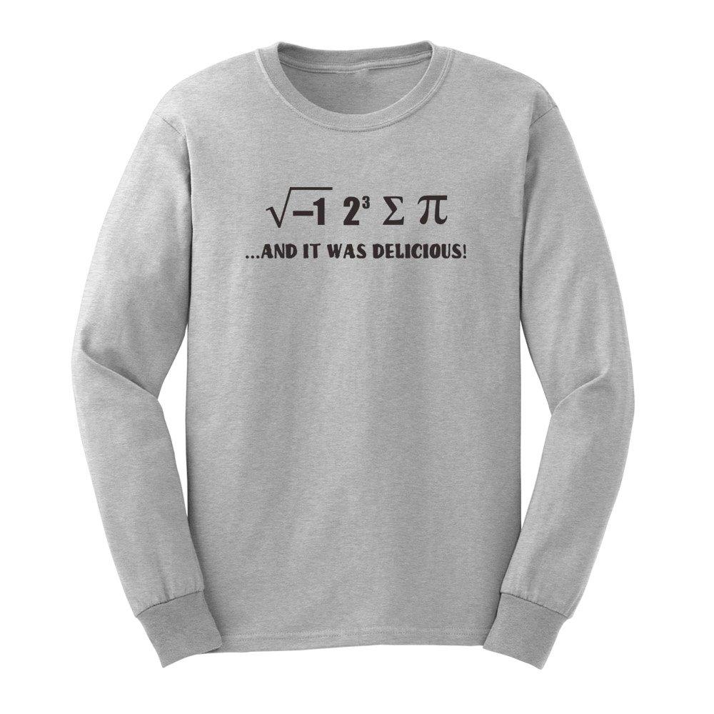S I 8 Sum Pi Funny Maths Physics Joke T Shirts Casual Tee