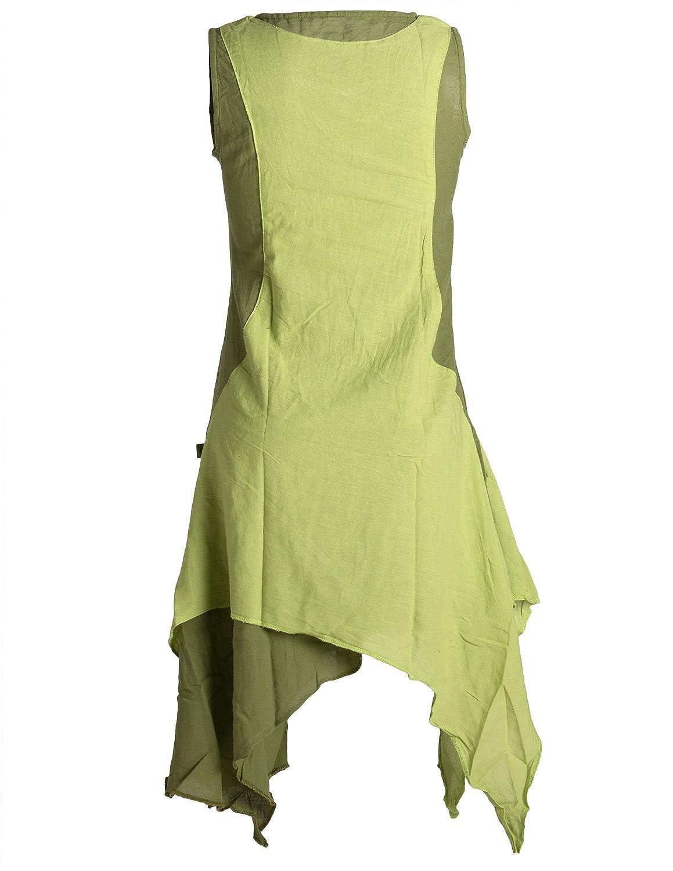Vishes - Alternative Alternative Alternative Bekleidung - Ärmelloses Zipfeliges Lagenlook Kleid Tunika aus handgewebter Baumwolle B01JK3KGT2 Blausen & Tuniken Ideales Geschenk für alle Gelegenheiten 4a730b