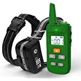 TBI Pro [All-New 2019] Dog Shock Training Collar with Remote   Heavy-Duty, Long Range 2000 ft, Rechargeable & IPX7 Waterproof   E-Collar Shock Collar for Dogs Small, Medium, Large Size, All Breeds