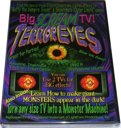 Terror Eyes One by BigScream TV (Terror Eyes Halloween Dvd)