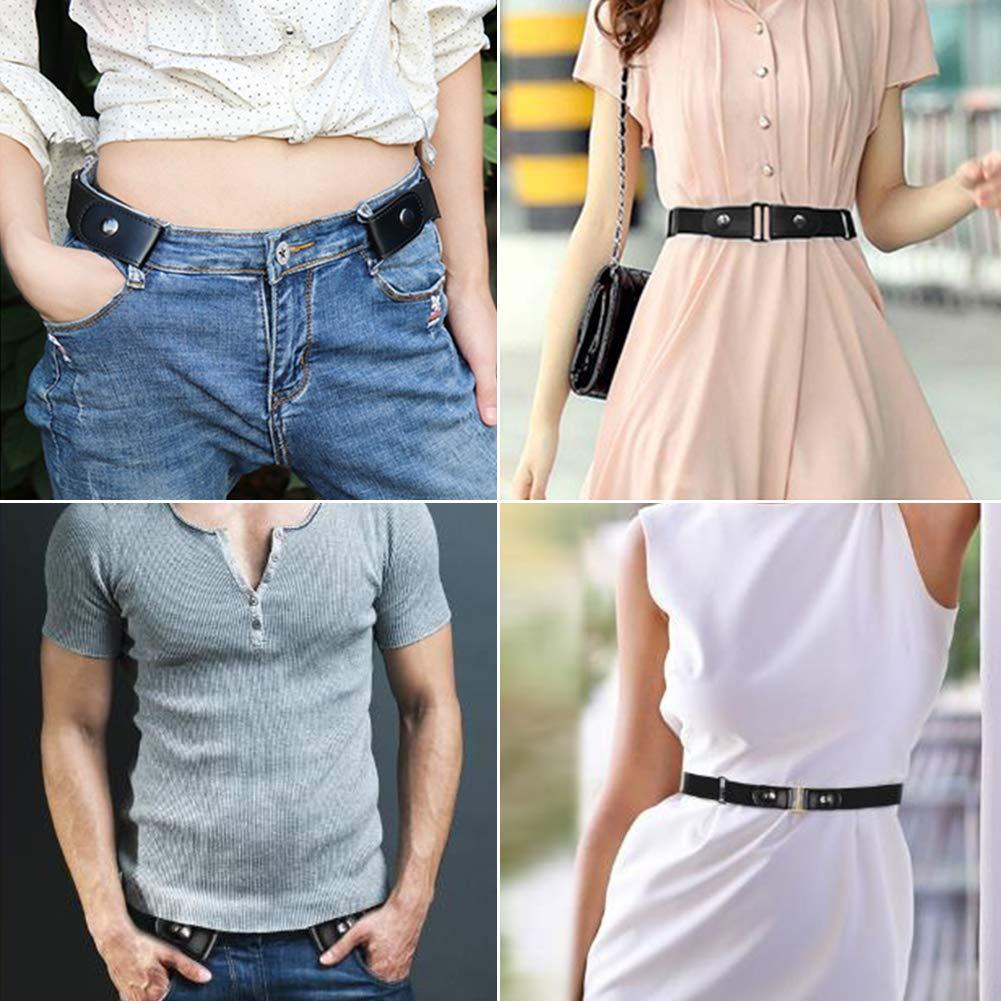 Ruimin 1PC Buckle-Free Elastic Invisible Belt Invisible Belts for Jeans for Mens Women by Ruimin (Image #8)