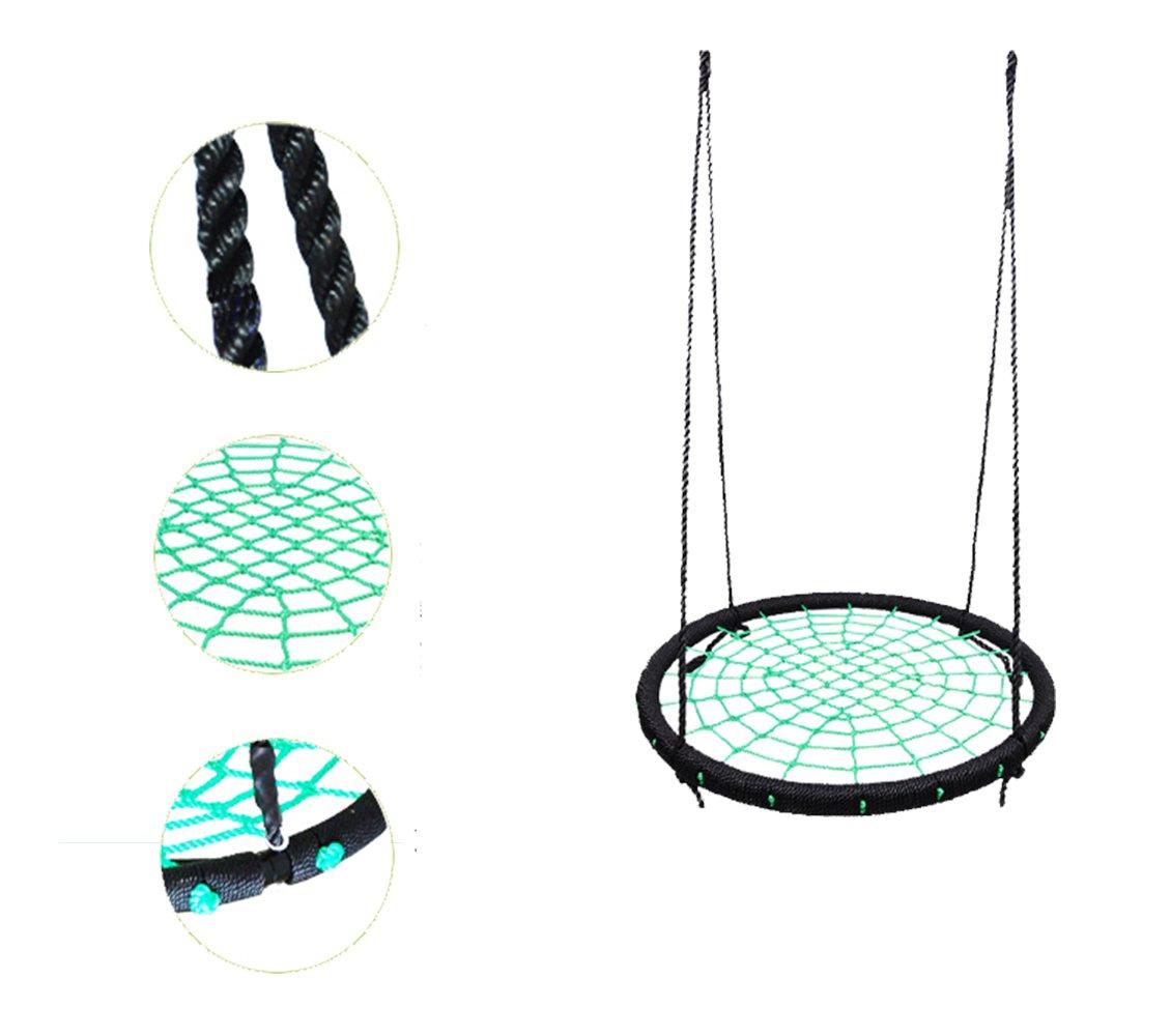 YJJ Kinder Nestschaukel Sitz Abnehmbarer Hängematte Pod mit Nylon-Rope verstellbar für Kinder und Erwachsene (92lbs)