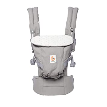 2a449d2622b Image Unavailable. Image not available for. Color  Ergobaby Adapt Award  Winning Ergonomic Multi-Position Baby Carrier ...