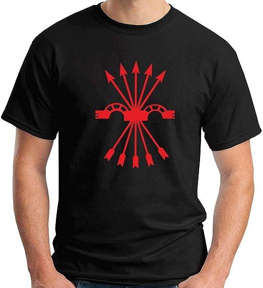 T-Shirt Hombre Negro TM0289 falange Spagna: Amazon.es: Ropa y accesorios