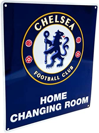 Chelsea Changing Room Sign OS 22cm x 25cm
