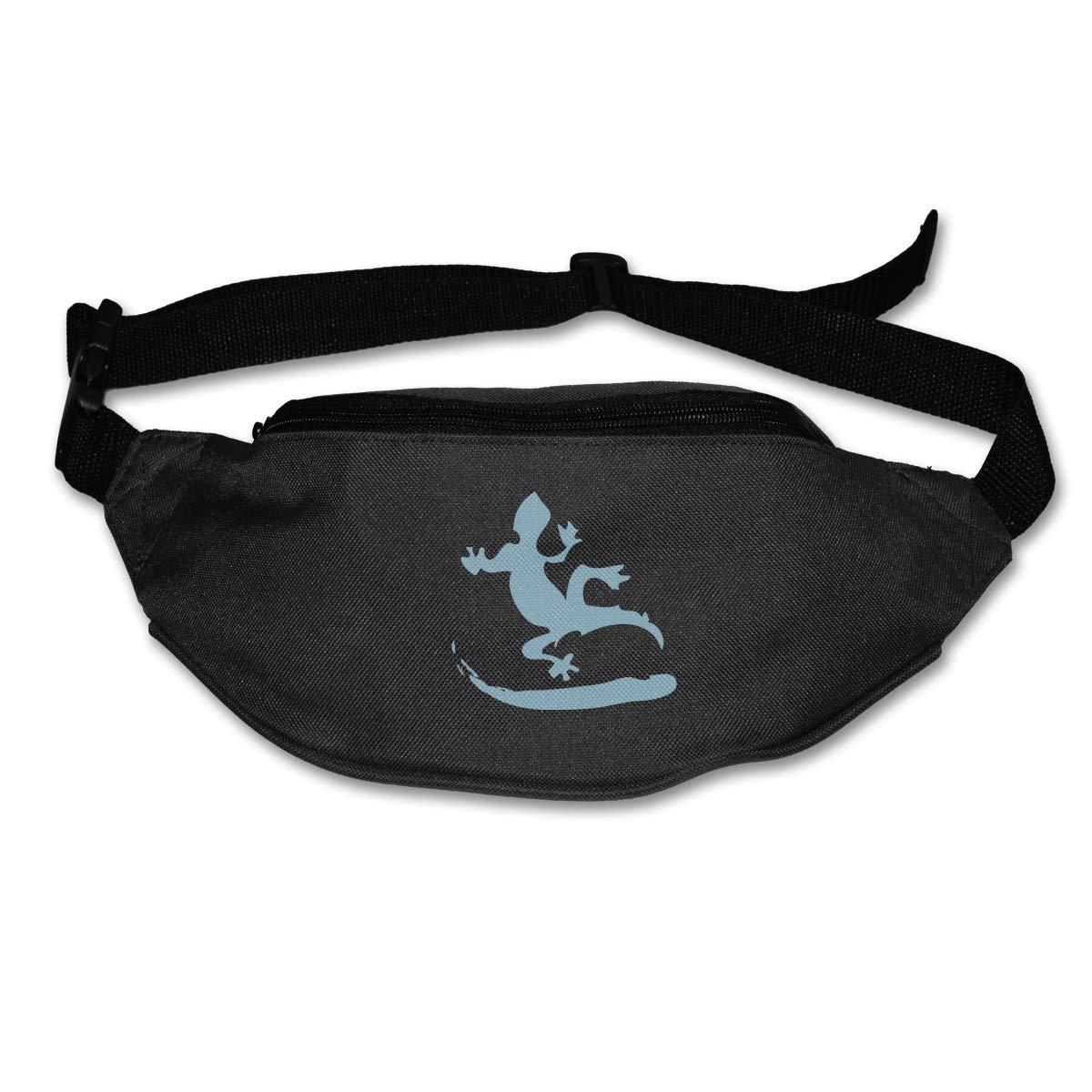 Wild Lizard Sport Waist Pack Fanny Pack Adjustable For Hike