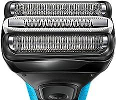 Braun 3045S - Afeitadora (Batería, Nickel-Metal Hydride (NiMH), Papel aluminio, Azul): Amazon.es: Hogar