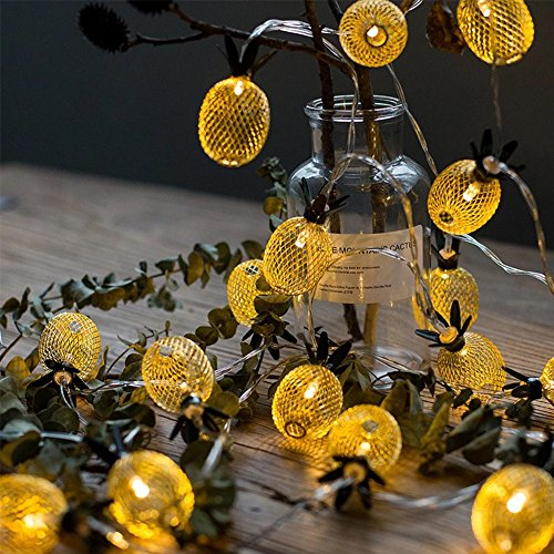Pineapple Outdoor String Lights - 6