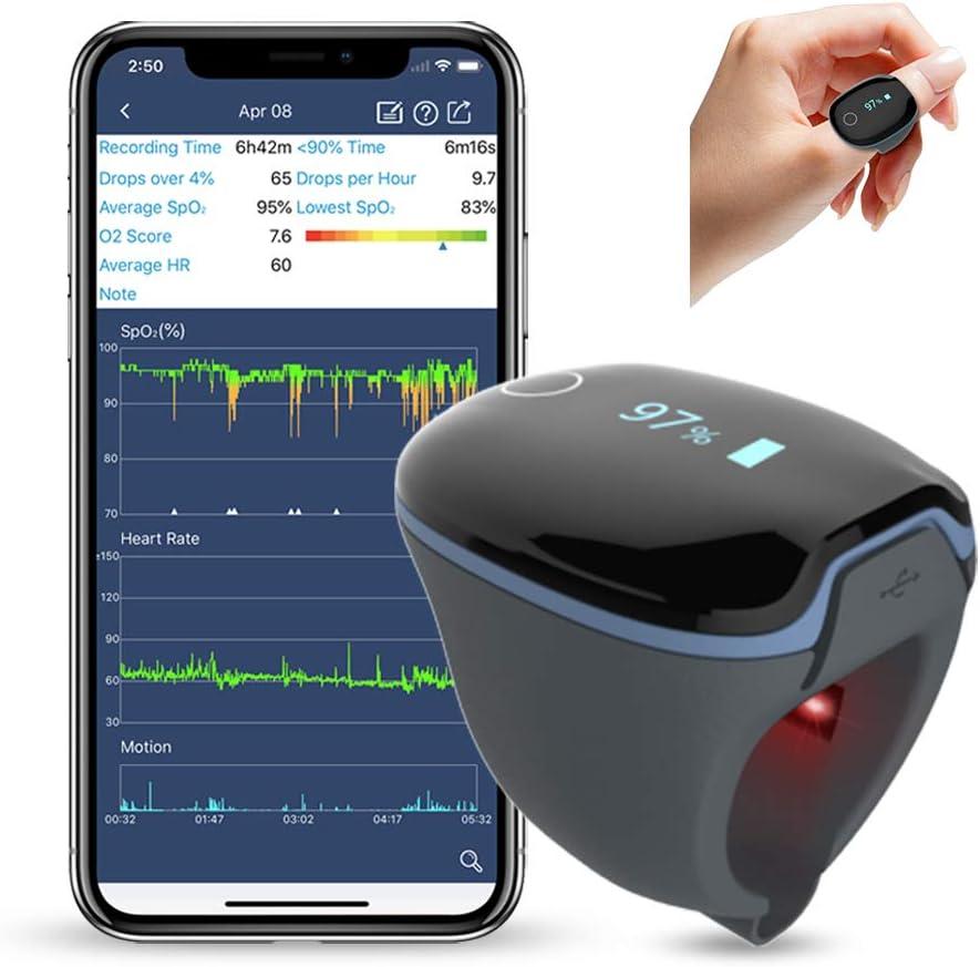 Wearable Sleep Monitor Health Ring