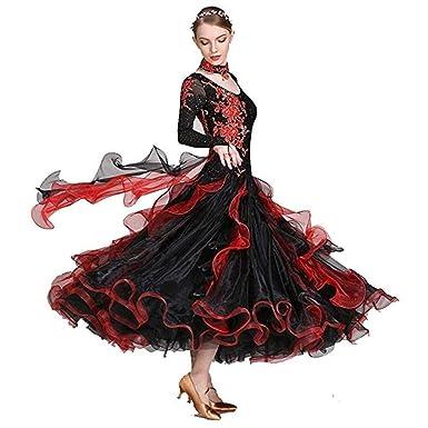Vestido De Mujer, Trajes De Baile Modernos, Falda De Vals ...