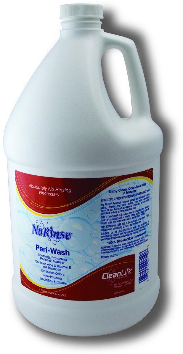 NR00710P - Cleanlife Products No-Rinse Peri-Wash Refill 1 Gallon