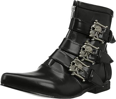 Demonia BROGUE-06 EU-BROGUE-06/B/NPU - Zapatos con Cordones para Hombre, Color Negro, Talla 43: Amazon.es: Zapatos y complementos