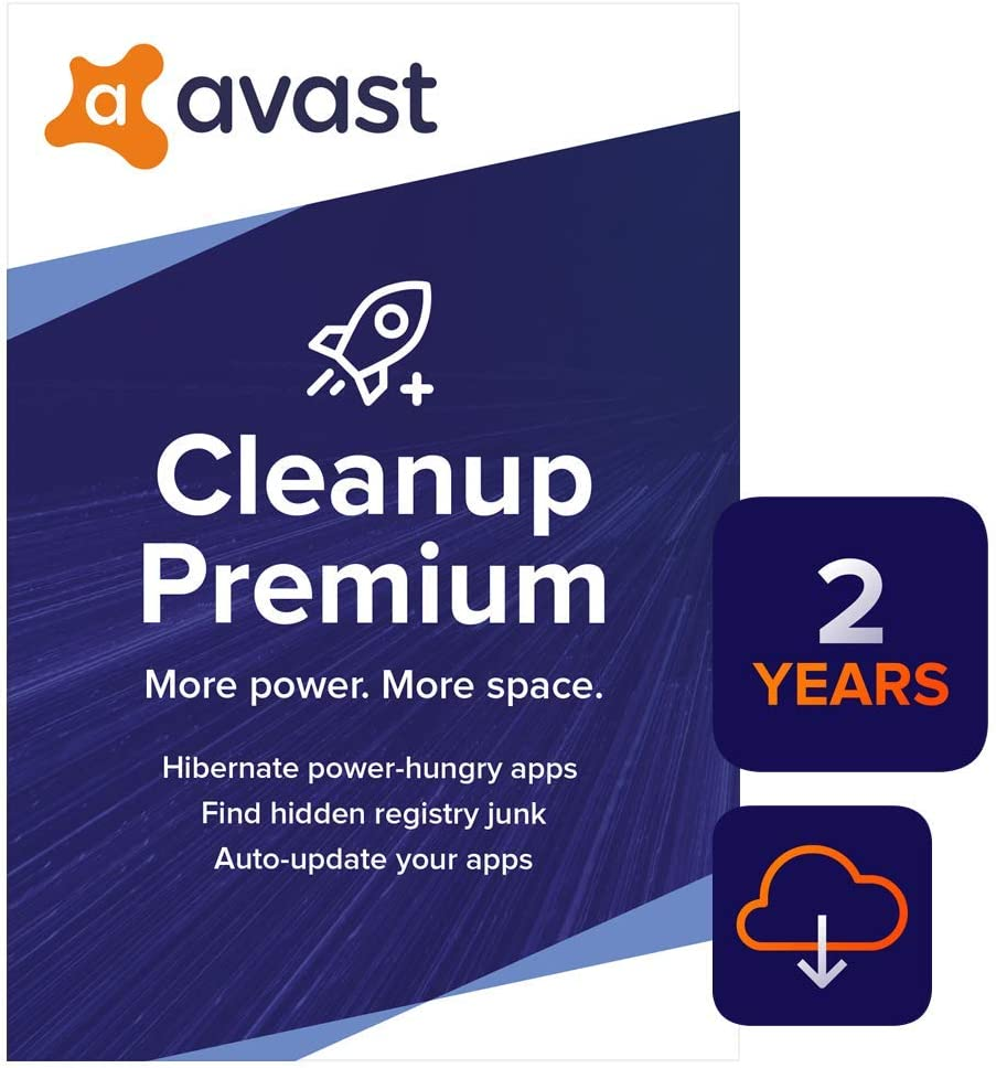 Avast Cleanup Premium 2020 | 1 PC, 2 Years [Download] 61zXtVYalnLSL1000_