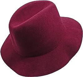 f451e94834ca0 Kids Girl s Vintage Dome 100% Wool Felt Bowler Cap Floppy Hat Bow