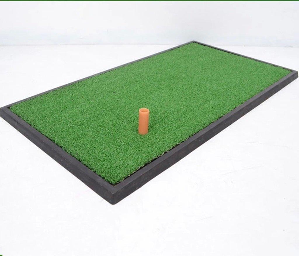 多機能室内ゴルフスイング厚いエクササイズマット専用ゴルフパッド( 63 * 33CM)   B01KA1ODUQ