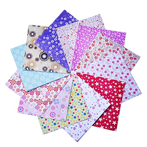 eBoot 144 Sheets Craft Folding Origami Paper Washi Folding Paper 6 by 6 Inch, 12 Different Colors and Patterns