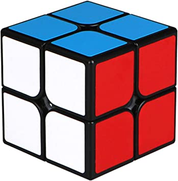 Cubo Magico 2x2x2 Smooth Magic Cube Puzzle Durable Regalo de Juguetes para Ni/ños Ni/ñas Cooja Cubo de Velocidad 2x2 Speed Cube