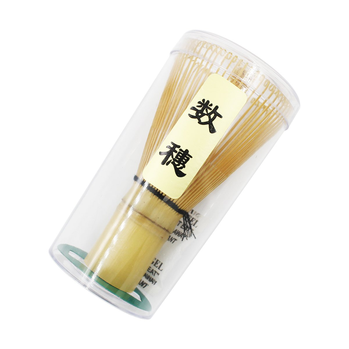 Qulable Bamboo Chasen Matcha Powder Whisk Tool Japanese Tea Ceremony Accessory (60-70 prongs)