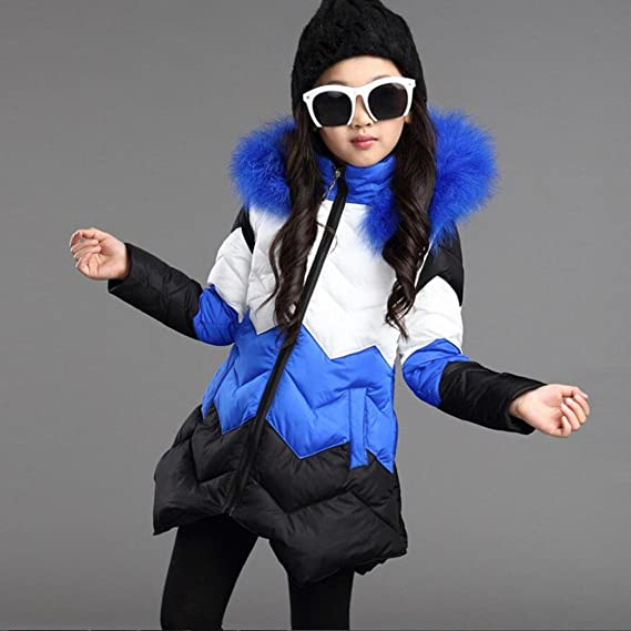 1c9a2218a Amazon.com  Konfa Girls Stylish Vivid Hooded Wind Coat