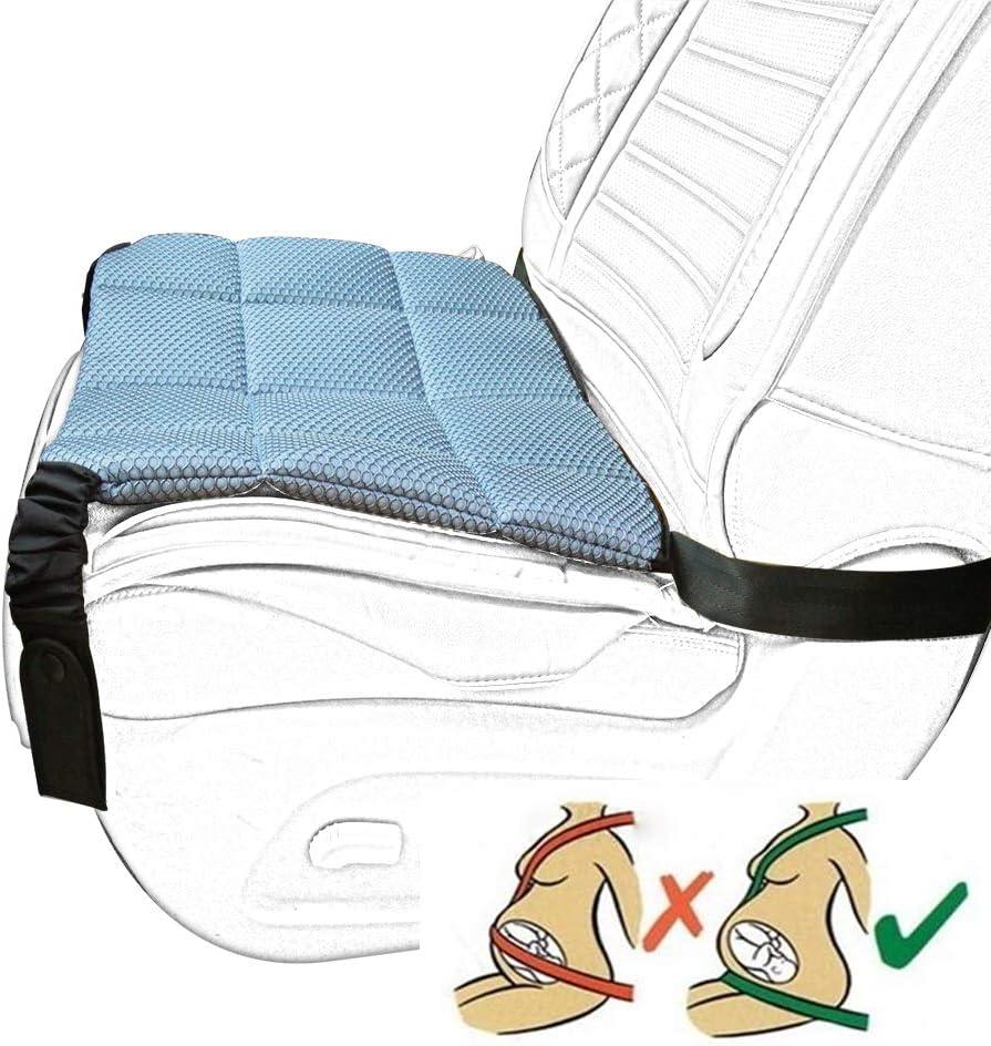 Ajusteur de ceinture de s/écurit/é de voiture pour la s/écurit/é de femmes enceintes conduisant la ceinture de s/écurit/é de coussin de coussin mou